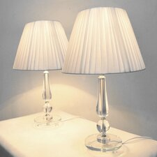Atheneien Exotica Table Lamp in White