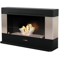 Wide Rectangular Convection Fireplace