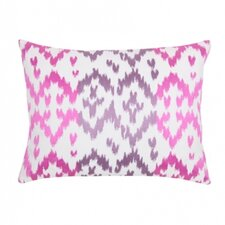 Ikat Orchid Pillow
