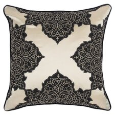 Abu Dhabi Henna Silk / Linen Pillow