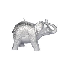 Unscented Elephant Novelty Candle