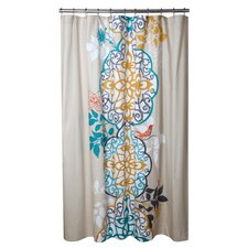 Shangri La Cotton Shower Curtain