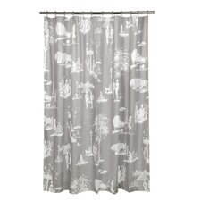 <strong>Blissliving Home</strong> Madeline Cotton Shower Curtain