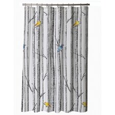 Birch Cotton Sateen Shower Curtain
