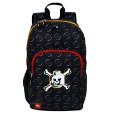 Skeleton Print Classic Lego Pattern Backpack