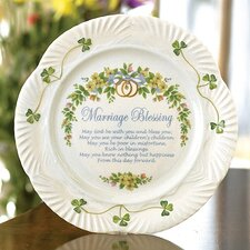 "Marriage 9"" Blessing Plate"