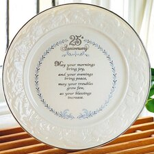 "9"" 25th Anniversary Plate"