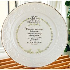 "9"" 50th Anniversary Plate"