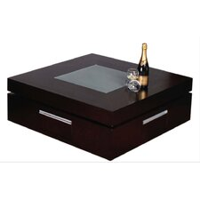 Laura Swirl Coffee Table with 4 Drawers