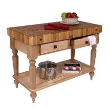 American Heritage Rustica Butcher Block Table