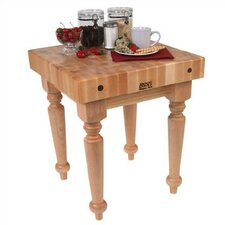 <strong>John Boos</strong> BoosBlock Saratoga Prep Table with Butcher Block Top