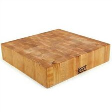 <strong>John Boos</strong> BoosBlock Square Maple Butcher Block Cutting Board