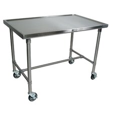 <strong>John Boos</strong> Cucina Americana Mariner Prep Table with Stainless Steel Top