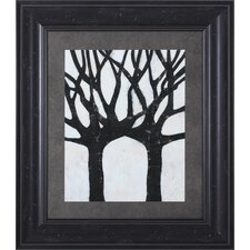Batik Arbor II Framed Artwork