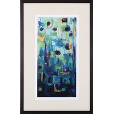 Abstract EXP II by Marabeth Quin Framed Painting Print
