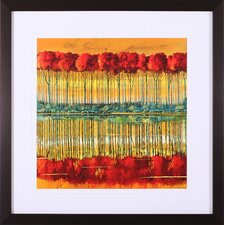 Amber Reception Framed Artwork