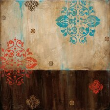 <strong>Art Effects</strong> Damask Patterns I Canvas Art