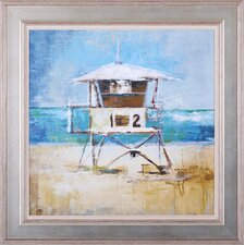 Lifeguard Tower Framed Artwork