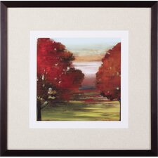 Flow Trees II Petite by Allison Pearce Framed Painting Print