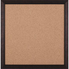 "Modern Square Brown Cork Board - 27"" x 27"""
