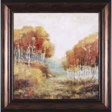 Weathered Scape II Framed Painting Print