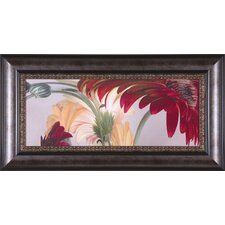 Gerbera Daisies #1 by Huntington Witherill Framed Painting Print