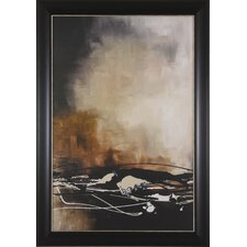 Tobacco and Chocolate II by Laurie Maitland Framed Painting Print