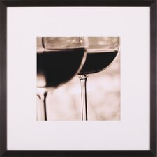 Vino Tinto I Framed Artwork