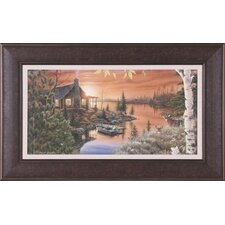 Autumn Evening by Mark Daehlin Framed Painting Print