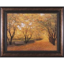 Autumn Gold by Diane Romanello Framed Painting Print