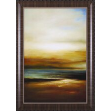Sound of The Waves II by Paul Bell Framed Painting Print