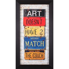 <strong>Art Effects</strong> Couch Framed Artwork