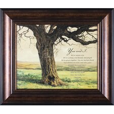 Forever by Bonnie Mohr Framed Graphic Art