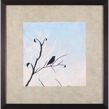 Sitting by Allison Pearce Framed Painting Print