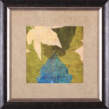 <strong>Art Effects</strong> Teal Leaf I Framed Artwork