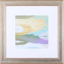 'Silk Gem II' by Cat Tesla Framed Painting Print