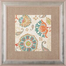 'Fall Paisley II' by Pela Studio Framed Painting Print