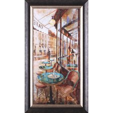 'Terraza Café De Flore' by Noemi Martin Framed Painting Print