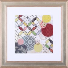 'Give and Take I' by Aimee Wilson Framed Graphic Art