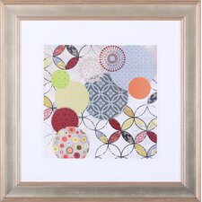 'Give and Take II' by Aimee Wilson Framed Graphic Art