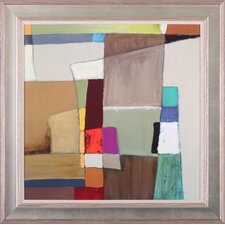 'Urban Mix I' by Carey Kingsbury Framed Painting Print