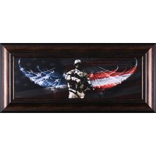 No Greater Love, Unity, The Guardian, Angels on The Ground and Armed with Valor by Jason Bullard Framed Graphic Art