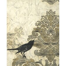 <strong>Art Effects</strong> Damask Songbird II Wall Art