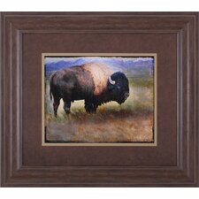 <strong>Art Effects</strong> Bison Portrait II Wall Art