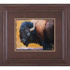 <strong>Art Effects</strong> Bison Portrait III Wall Art