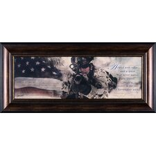 Armed with Valor Wall Art