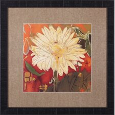 Gerber Garden I by Lisa Snow Lady Framed Painting Print