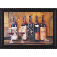 Cellar Reds by Marilyn Hageman Framed Painting Print