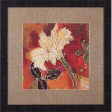 Gerber Garden II by Lisa Snow Lady Framed Painting Print