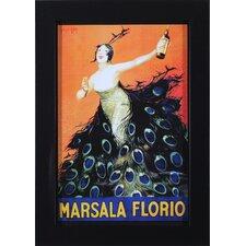 Marsala Florio Framed Vintage Advertisement